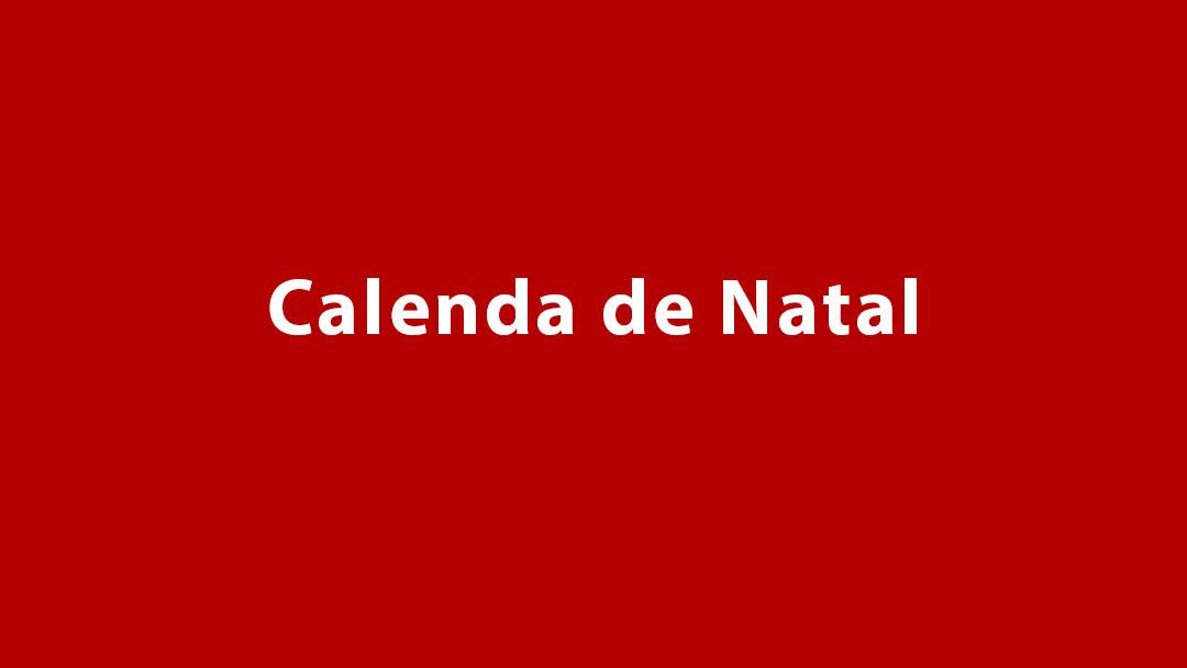 Calenda de Natal 2017